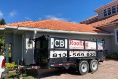 cb-roofing-dump-tailer-on-site