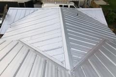 top-view-of-metal-roof